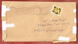 Grossbrief, Hans Christian Andersen Sk, Handroll Welle Briefzentrum 56, Neuwied Nach Leonberg 2016 (92944) - Storia Postale