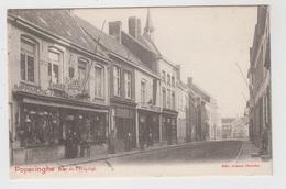 Poperinghe  Poperinge  Rue De L'Hôpital   Edit Sansen-Decorte (met Zicht Op Deze Bazar) - Poperinge