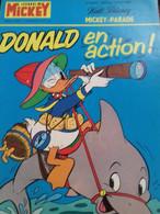 Donald En Action Mickey Parade N° 1111 Bis Edi Monde 1973 - Mickey Parade
