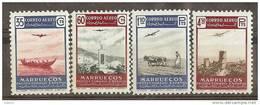 MA369-L4144TEUESPCOLSC.Maroc.Mar Occo. Paisajes Y Avion..MARRUECOS ESPAÑOL.1953. (Ed 369/2**) Sin Charnela.MUY BONITO - España
