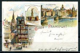 Color-Litho Aus FRANKFURT / Main - Siehe Scans - Frankfurt A. Main
