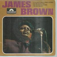 "45 Tours EP -  JAMES BROWN  - POLYDOR 27786  "" IT'S A MAN'S MAN'S MAN'S WORLD "" + 3 - Autres - Musique Anglaise"