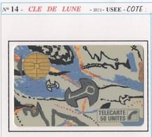 TELECARTE N°14 CLE DE LUNE - 1987