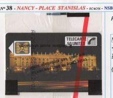 TELECARTE N°38 PLACE STANISLAS NSB - France