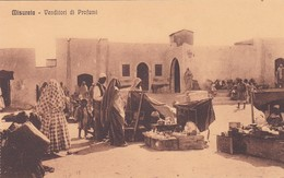 MISURATA, VENDITORI DI PROFUMI. LIBYE CPA CIRCA 1920's NON CIRCULEE -LILHU - Libye