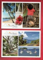 MAYOTTE . 2 MULTI-VUES . 2 CPM - Ref. N°25323 - - Mayotte