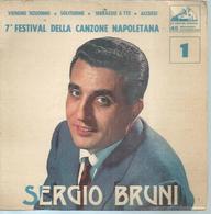 """45 Tours EP -  SERGIO BRUNI  - LA VOCE 114  """" VIENEME 'NZUONNO """" + 3  ( ITALIE ) - Autres - Musique Anglaise"""