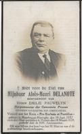 DP. ALOIS DELANOTE ° ROUSBRUGGE-HARINGHE 1852- + PROVEN 1928 - BURGEMEESTER DER GEMEENTE PROVEN - Religion &  Esoterik