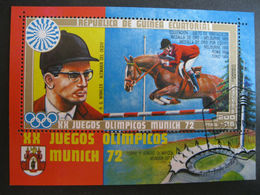 München 72 / Äquatorialguinea / Block Reiten - Jumping