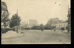 St Mandé 94 Rue De Paris Et Avenue De La Tourelle Carte Sans Légende Tramway Pionnière - Saint Mande