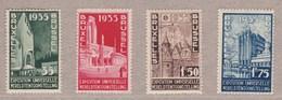 1934 Nr 386-89* Met Scharnier.Wereldtentoonstelling.OBP 14 Euro. - Unused Stamps