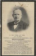DP. KAREL BRUTSAERT ° POPERINGHE 1839 + WATOU 1914 - BURGEMEESTER WATOU SEDERT 30 JAAR - Religion &  Esoterik