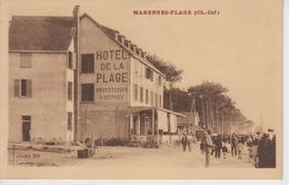 CPA Marennes-Plage (animation Devant L'Hôtel De La Plage) - Marennes