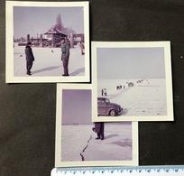 3 Fotos 9x9cm Bodensee-Gfröri 1963/ Privataufnahmen - Luoghi