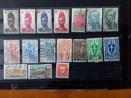 Lot 32 Timbres Cameroun Avant Indépendance - Collections (sans Albums)