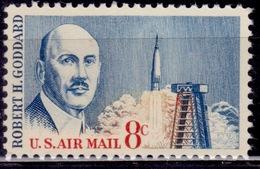 United States, 1964, Airmail, Goddard Launch Tower, 8c, Sc#C69, MNH - 3b. 1961-... Ungebraucht