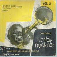 """45 Tours EP -  TEDDY BUCKNER  - VOGUE 7417  """" POTATOE HEAD BLUES """" + 3  ( JAZZ ) - Autres - Musique Anglaise"""