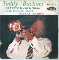 """45 Tours EP -  TEDDY BUCKNER  - VOGUE 7758  """" ROYAL GARDEN BLUES """" + 1  ( Avec Languette )  JAZZ - Autres - Musique Anglaise"""