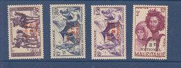 MAURITANIE 119/122  LUXE NEUF SANS CHARNIERE - Mauritania (1906-1944)