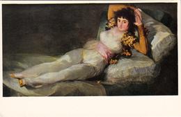 La Maja Vestida - Goya - Museo Del Prado - Museum - Art Painting - Size 6x3 3/4in (15x10cm) - Unused - 2 Scans - Paintings