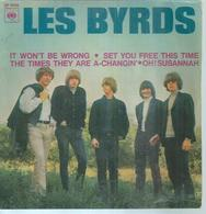 "45 Tours EP -  LES BYRDS  - CBS 5668  "" SET YOU FREE THIS TIME "" + 3 - Autres - Musique Anglaise"