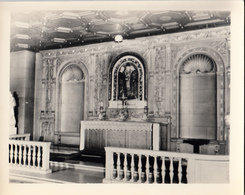 Unknown Location - Church Église Or Chapel - Blank Back - Size 4 X 5 - Unused - VG Condition - Otros