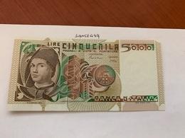 Italy Antonello Da Messina Uncirculated Banknote 5000 Lira 1980 #4 - [ 2] 1946-… : Repubblica