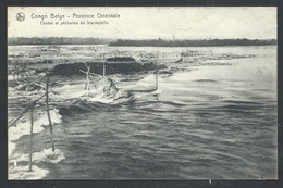 +++ CPA - Afrique - Congo Belge - Province Orientale - Chutes Et Pêcheries De Stanleyfalls - Nels   // - Belgisch-Congo - Varia