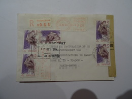 Lettre Recommandée 1984  TBE - 1961-....