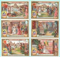 Série Complète De 6 Chromos Bouillon Cibils. Lohengrin. Van Geetruyen & Cie, Antwerpen. - Trade Cards