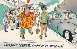 Comics Humor Comic Comique Humour - Tourist - Unused - VG Condition - 2 Scans - Humour