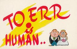 Comics Humor Comic Comique Humour - Marriage - Ontario - Unused - VG Condition - 2 Scans - Humour