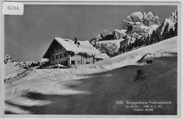 Berggasthaus Fohnalpstock Ob Mollis Im Winter - GL Glaris