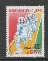 Monaco 2017, Yv 3093, Hogere Waarde,  Gestempeld - Monaco
