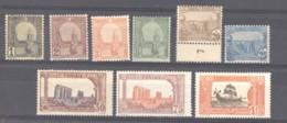 Tunisie  :  Yv  29...39A  **   9 Valeurs - Tunisia (1888-1955)