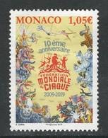 Monaco 2019, Yv 3165,  Hogere Waarde, Gestempeld - Monaco
