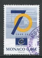 Monaco 2019, Yv 3187,  Gestempeld - Monaco