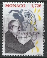 Monaco 2019, Yv 3208, Hoge Waarde,  Gestempeld - Monaco