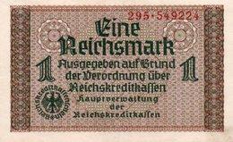 GERMANY-. 1 REICHSMARK 1940 **CIRC.   P-R136b  UNC - Otros