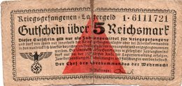 GERMANY-. 5 REICHSMARK 1939 **CIRC.   P-R520 - [ 4] 1933-1945 : Troisième Reich