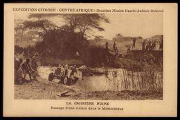 EXPEDITION CITROEN 2eme Mission Haardt-Audoiun LA CROISIERE NOIRE Passage De Riviere Mozambique Moçambique AFRICA - Mozambico