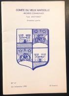 """COMITE DU VIEUX MARSEILLE """"LES BASTIDES (PREMIERE PARTIE)"""" (19159) - Provence - Alpes-du-Sud"""