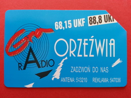 POLAND 119 - 50u Radio Gra Orzezwia  6.200 Exemplaires Used URMET POLOGNE (TP320 - Pologne