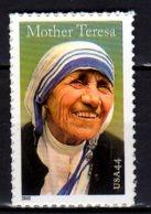 2010 USA Mother Theresa S.adhesive MNH** MiNr. 4642 Christianity, Nobel Prize Winner - United States