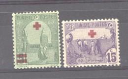 Tunisie  :  Yv  48-49  ** - Tunisia (1888-1955)