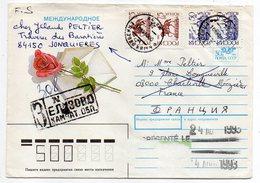 Russie -- 1993--Lettre  Avec Timbres Et Cachets --84150--Jonquières-84...--Charleville-08....à Saisir - 1992-.... Federation