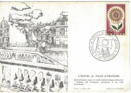 CARTE FRANCE L'HOTEL DE VILLE D'ORLEANS EUROPA - Verzamelingen