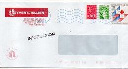 2006--lettre D' Amiens-80...timbres Dont Sutaxé Croix-Rouge..beau Cachet Néopost 80-AMIENS CTC......à Saisir - France