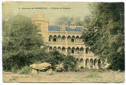 CPA - Château De Baignes ( Montausier Baignes Ste Radegonde ) Environs Barbezieux * Toilée 9,5 X 14,80 Cm - France