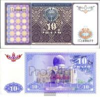 Uzbekistan Pick-number: 76a Uncirculated 1994 10 Sum - Uzbekistan